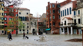 The area of the Jewish ghetto in Venice, 2013.