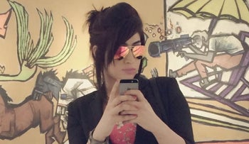 Social media celebrity Qandeel Baloch, who was strangled in what appeared to be an honor killing in Multan, Pakistan.