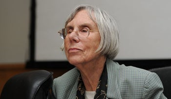 Retired Supreme Court Justice Dalia Dorner.