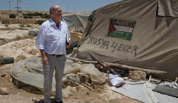 Colm Toibin visits the West Bank village Susiya, where some Palestinians live near ruins that were declared an archaeological site in the mid-1980s, forcing them to leave.