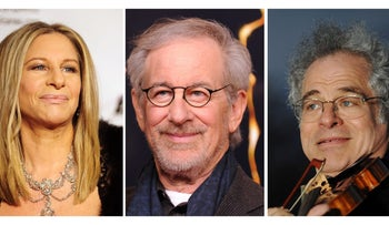Barbra Streisand, Steven Speilberg, and and Itzhak Perlman will be among those receiving the Presidential Medal of Freedom from U.S. President Barack Obama this month.
