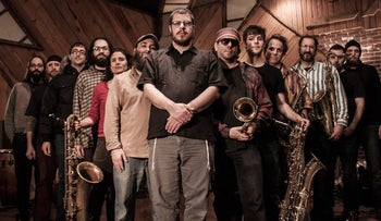 Zion80, the 11-piece band headed by Modern Orthodox guitarist Jon Madof.