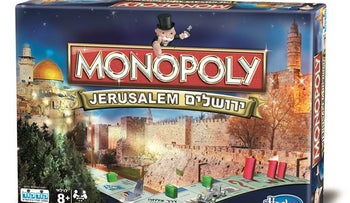 Israel's KodKod teams up with Hasbro toys to produce a new Monopoly game. December 2016