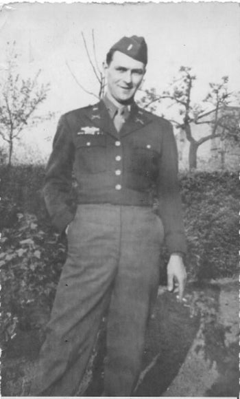 Frank Towers, photographed during World War II.
