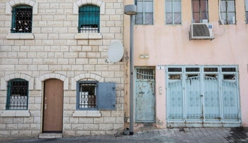 Gentrification in Jaffa, Israel.