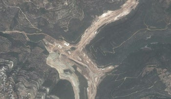 Satellite images purportedly showing structure in Syria said to be a missile factory