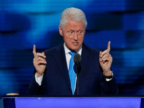 Former President Bill Clinton speaks during the second day of the Democratic National Convention in Philadelphia, Tuesday, July 26, 2016.