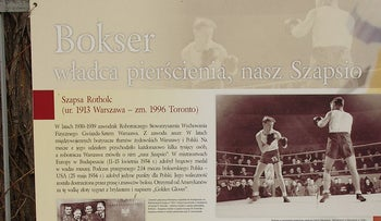 """From """"Sport in pre-war Warsaw"""": Paper dedicated to """"Lord of the Ring, our Szapsio"""" authored by  Jarosława Rokickiego."""