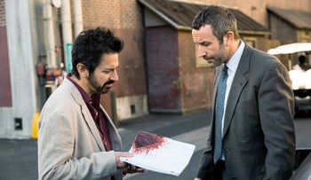Chris O'Dowd and Ray Romano in 'Get Shorty'