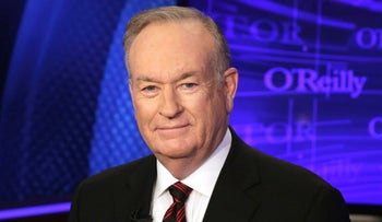 "Bill O'Reilly of the Fox News Channel program ""The O'Reilly Factor,"" poses for photos in New York, Oct. 1, 2015."