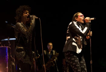 Win Butler and Regine Chassagne of Arcade Fire.