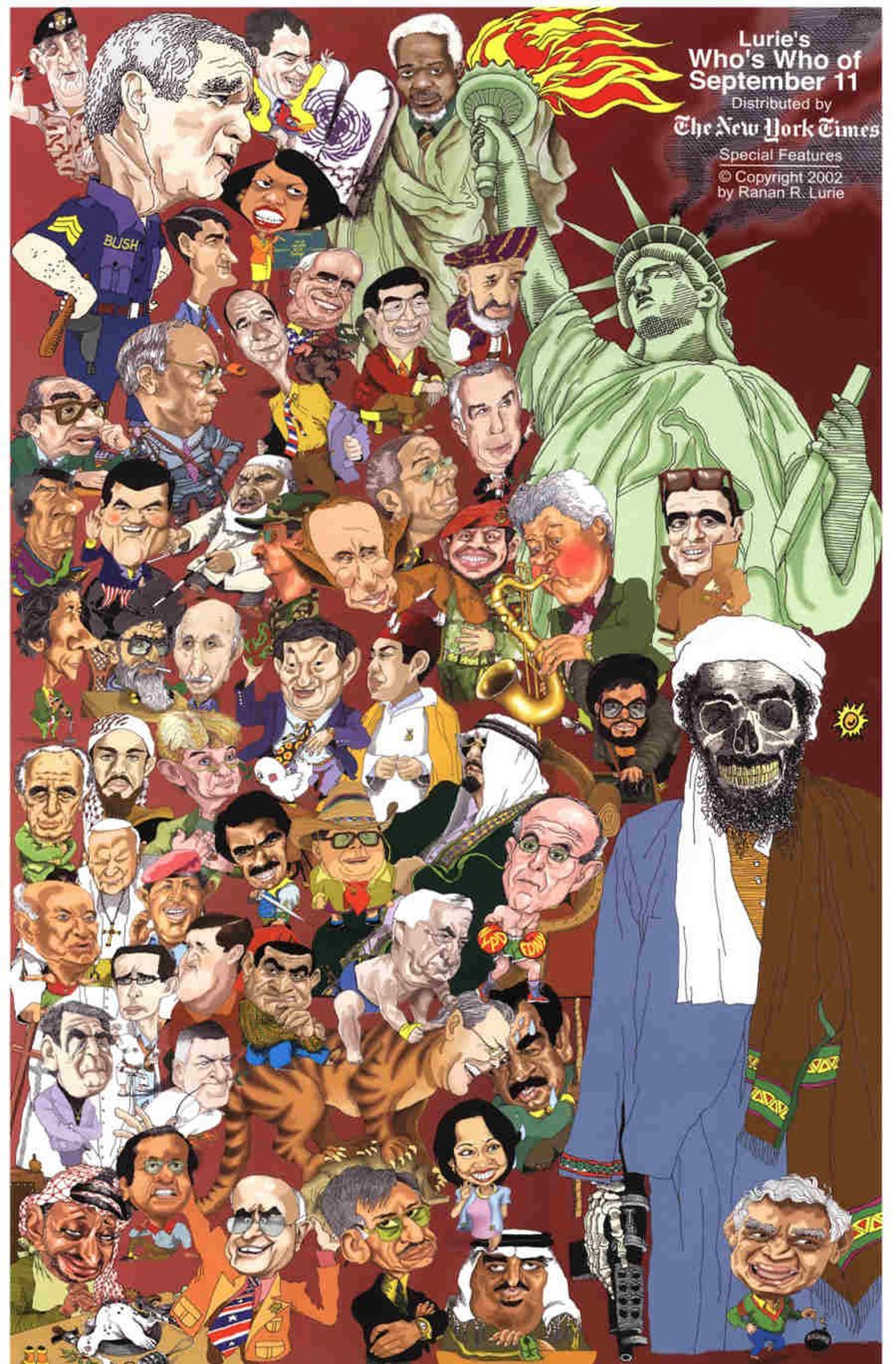 Lurie's Who's Who Of September 11.