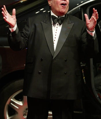 """Jerry Lewis at the premier of """"Man to Man"""" in Berlin, Germany on Feb 10, 2005."""