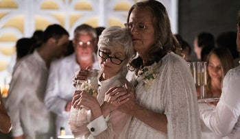 Jeffrey Tambor, right, with Judith Light in the second season of 'Transparent.'