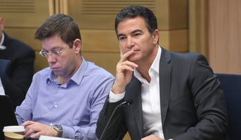 Head of the Mossad Yossi Cohen in a committee meeting on June 8, 2017.