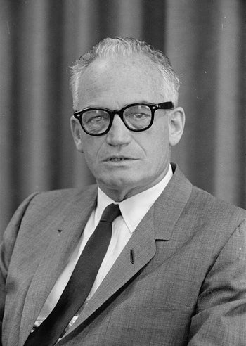 Barry Goldwater. The response from 1,189 APA members held that he was not psychologically fit to be president.