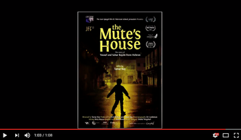 A screenshot from the trailer of 'The Mute's House.'