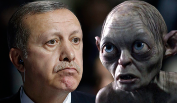 Erdogan and Gollum: See the resemblance?