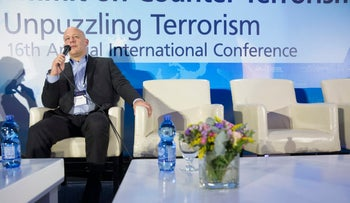 Lior Lotan, speaking at a counter-terrorism conference, Sept. 13, 2016