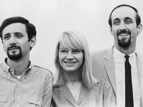 This 1980 photo shows, from left: Paul Stookey , Mary Travers, and Peter Yarrow. Travers, one-third of the popular 1960s folk trio Peter, Paul and Mary.