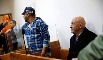 MK Basel Ghattas at court on December 23, 2016.