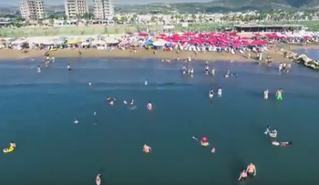 Tartus in screenshot from Syrian Tourism Ministry video
