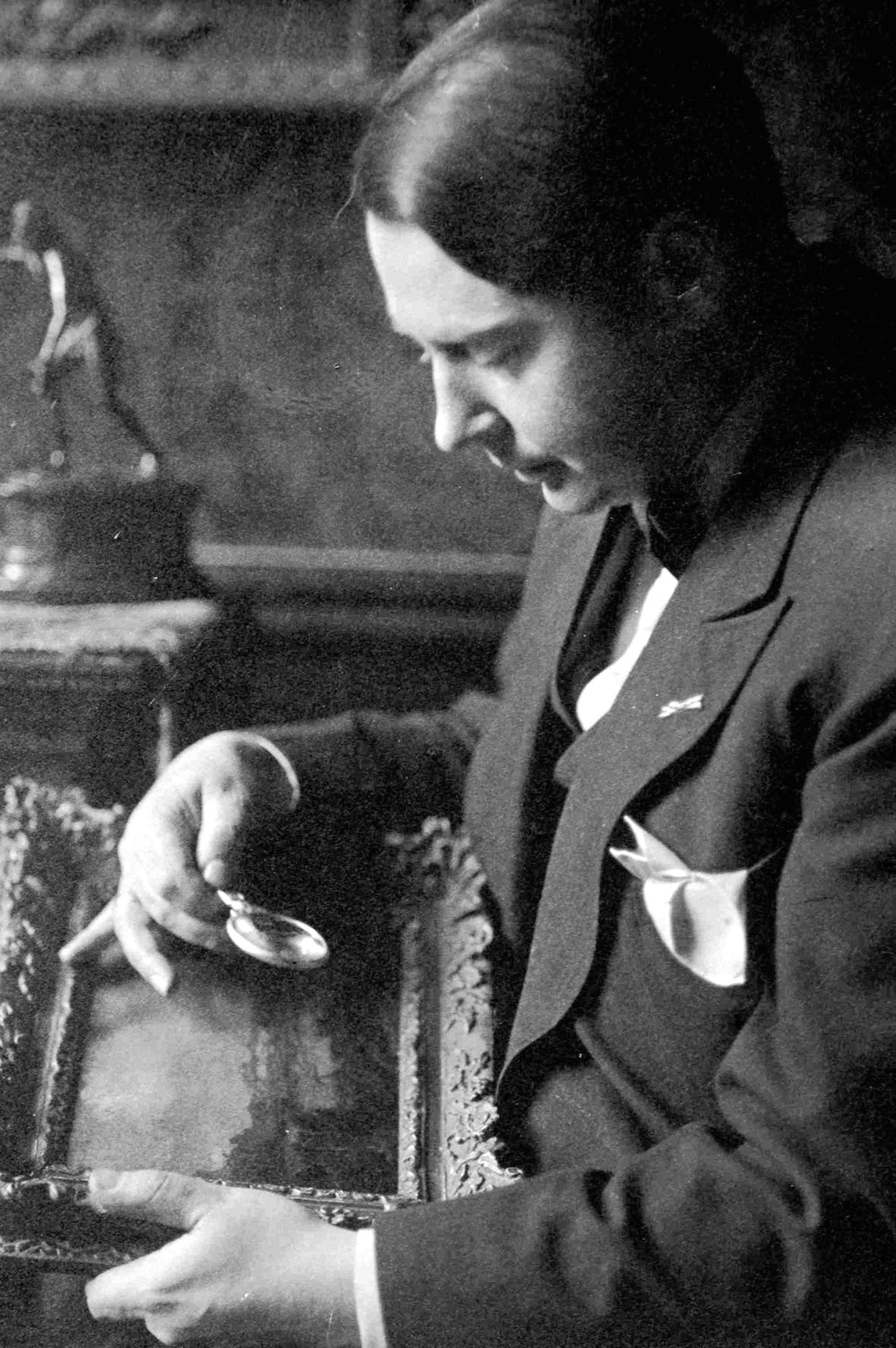 Jacques Goudstikker, a Jewish art dealer who fled Amsterdam in 1940. Over 1,200 artworks owned by him were stolen; a few hundred have been returned to his family.
