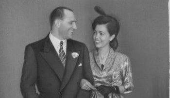 Yehuda and Jeanette Assia, 1950.
