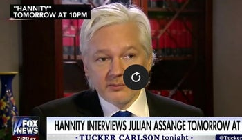 Assange To Hannity: Source For WikiLeaks Was Not Russian Government