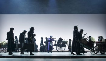 "A New York production of ""Fiddler on the Roof,"" based on the stories of Sholem Aleichem, Dec. 20, 2015."