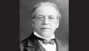 Samuel Gompers, cigarmaker turned father of American labor politics