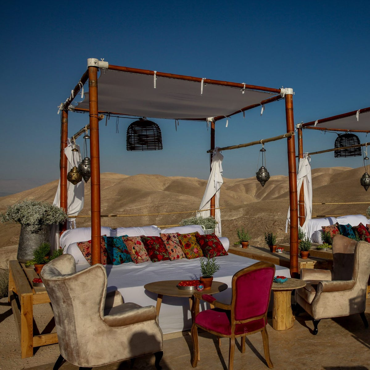 Money can't buy you love. But it can buy you a private tasting in the middle of the Israeli desert.
