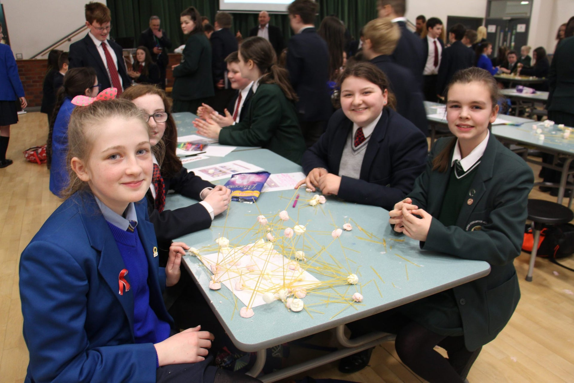 Integrated school activity in Derry/Londonderry.