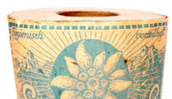 The Edelweiss-branded toilet paper will be auctioned alongside other World War II-era memorabilia such as army helmets, daggers and ski goggles.