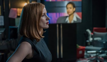 Jessica Chastain in 'Miss Sloane.'