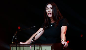 Culture Minister Miri Regev during the Ophir Awards in September 2016.