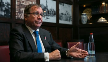 New Zealand's Foreign Minister Murray McCully, November 2016.