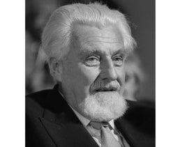 This June 23, 1975 file picture shows Austrian Nobel laureate Prof. Konrad Lorenz during the ninth Congress of Nobel-Prize -Winners in Lindau, then West Germany. An Austrian university has posthumously stripped Nobel Prize-winning scientist Konrad Lorenz of his honorary doctorate due to his fervent embrace of Nazism. The University of Salzburg cites Lorenz's 1938 application for membership in Hitler's Nazi party in its decision made public Thursday Dec. 17, 2015.