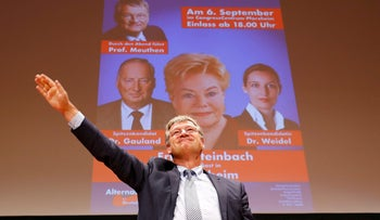 Germany's far-right Alternative for Deutschland party campaigns in Pforzheim, Germany September 6, 2017