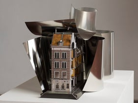 """""""Untitled (extension),"""" Simon Fujiwara, 2017. A model of the house."""
