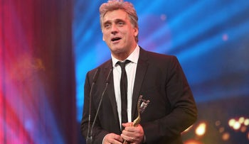 """Actor Lior Ashkenazi won the Ophir Award's Best Actor award for his role in """"Foxtrot."""""""