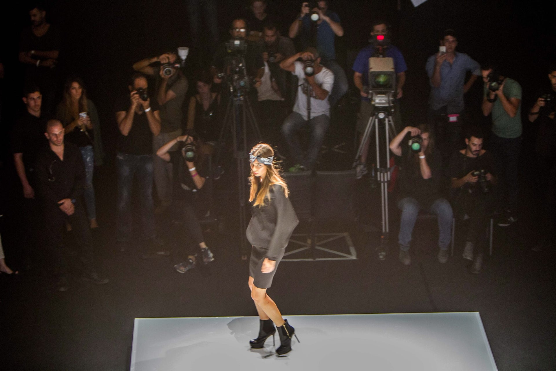 A Gindi TLV Fashion Week 2015 show.