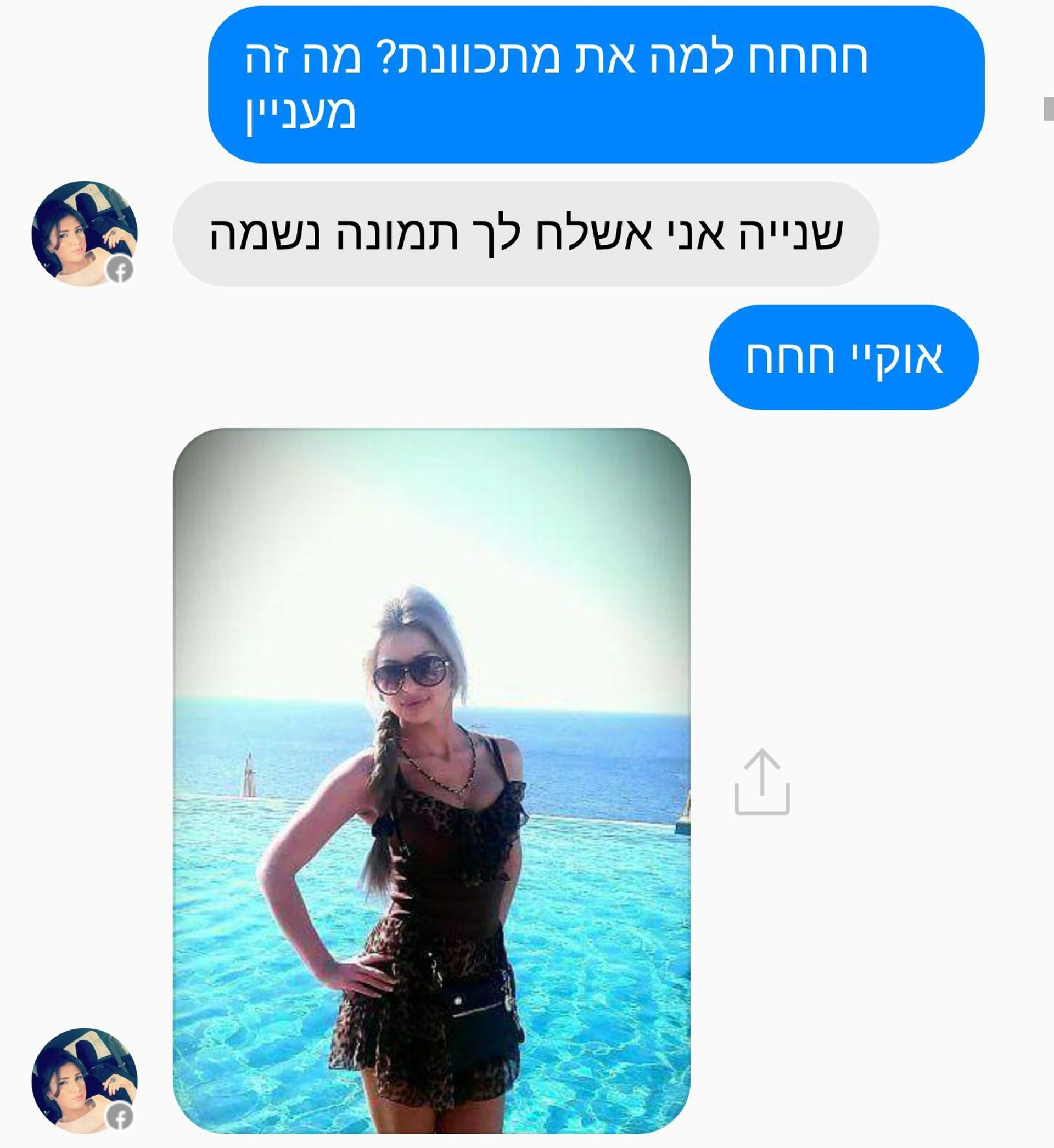 One of the fake profiles operated by Hamas.