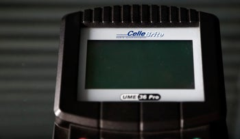 A data transfer device manufactured by Cellebrite Mobile Synchronization Ltd.