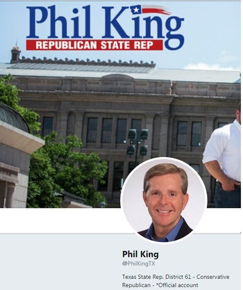 Phil King's Twitter Account