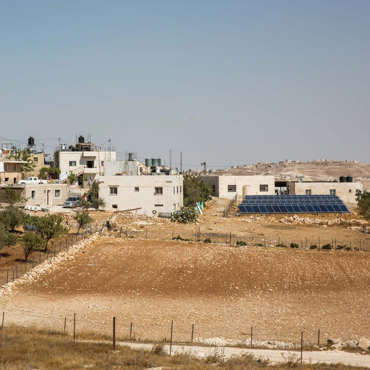 The Palestinian village Jubbet Adh-Dhib, October 18, 2017.