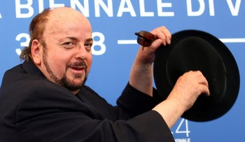 "FILE PHOTO: Director James Toback poses during a photocall for the movie ''The Private Life Of A Modern Woman"" at the 74th Venice Film Festival in Venice, Italy September 3, 2017"
