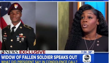 Myeshia Johnson confirms Rep. Frederica Wilson's account: Trump 'couldn't remember my husband's name'
