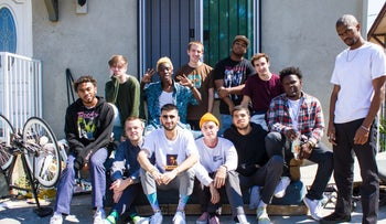 The members of Brockhampton: More Cali than Texas, these collective is not Wu-Tang just yet, but they're on their way up