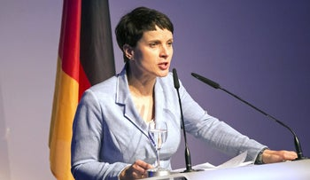Frauke Petry, co-chairman of the Alternative for Germany party.
